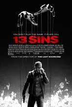 """13 Sins"" Movie Poster"