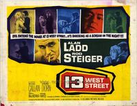 13 West Street - 22 x 28 Movie Poster - Half Sheet Style A