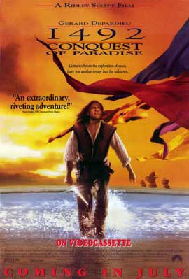 1492: Conquest of Paradise - 11 x 17 Movie Poster - Style B