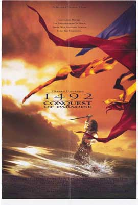 1492: Conquest of Paradise - 27 x 40 Movie Poster - Style A