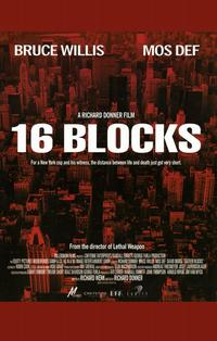 16 Blocks - 11 x 17 Movie Poster - Style A