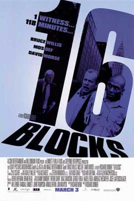 16 Blocks - 11 x 17 Movie Poster - Style B