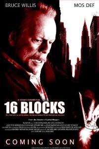 16 Blocks - 11 x 17 Movie Poster - Style E