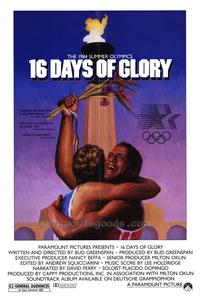 16 Days of Glory - 27 x 40 Movie Poster - Style A