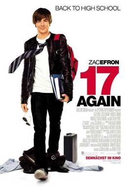 17 Again - 11 x 17 Movie Poster - German Style A
