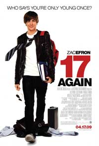 17 Again - 43 x 62 Movie Poster - Bus Shelter Style A