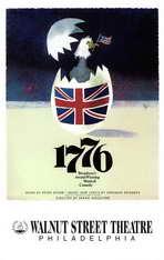 1776 (Broadway) - 11 x 17 Poster - Style B