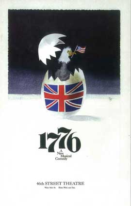 1776 (Broadway) - 14 x 22 Poster - Style A