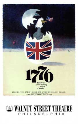1776 (Broadway) - 27 x 40 Poster - Style A