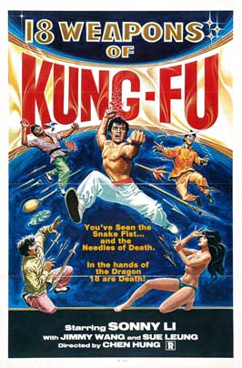 18 Weapons of Kung Fu - 27 x 40 Movie Poster - Style A