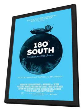 180� South - 11 x 17 Movie Poster - Style A - in Deluxe Wood Frame