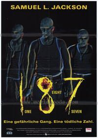 187 - 11 x 17 Movie Poster - German Style A