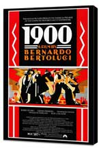 1900 - 27 x 40 Movie Poster - Style A - Museum Wrapped Canvas