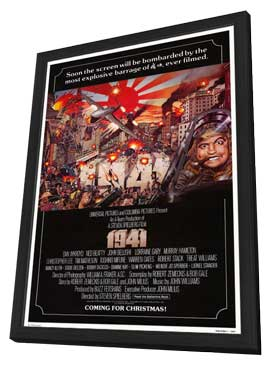 1941 - 27 x 40 Movie Poster - Style C - in Deluxe Wood Frame