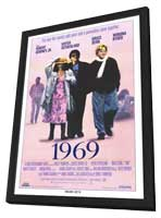 1969 - 11 x 17 Movie Poster - Style A - in Deluxe Wood Frame