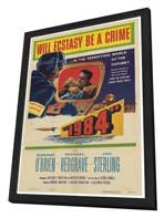 1984 - 27 x 40 Movie Poster - Style A - in Deluxe Wood Frame