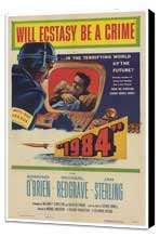 1984 - 27 x 40 Movie Poster - Style A - Museum Wrapped Canvas