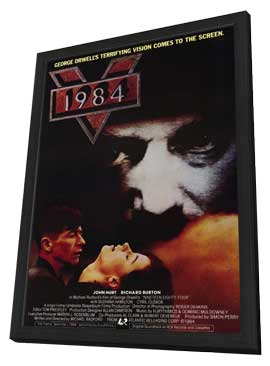 1984 - 11 x 17 Movie Poster - Style A - in Deluxe Wood Frame