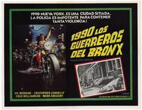 1990: The Bronx Warriors - 11 x 17 Poster - Foreign - Style A