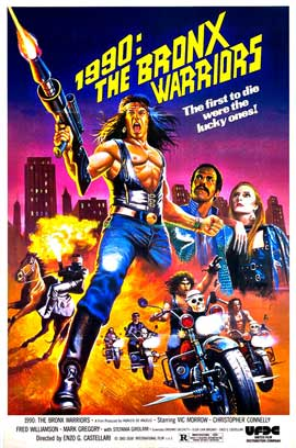 1990: The Bronx Warriors - 27 x 40 Movie Poster - Style A