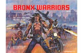 1990: The Bronx Warriors - 11 x 17 Movie Poster - Style B