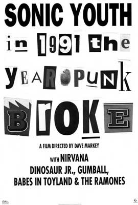 1991: The Year Punk Broke - 27 x 40 Movie Poster - Style A
