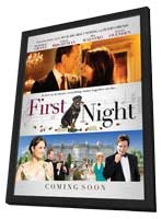 1st Night - 27 x 40 Movie Poster - UK Style A - in Deluxe Wood Frame