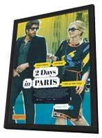 2 Days in Paris - 11 x 17 Movie Poster - Australian Style A - in Deluxe Wood Frame