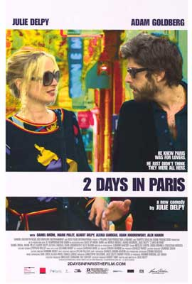 2 Days in Paris - 27 x 40 Movie Poster - Style A