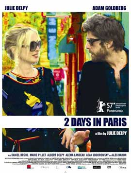 2 Days in Paris - 27 x 40 Movie Poster - Style C