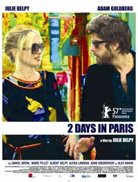2 Days in Paris - 43 x 62 Movie Poster - Bus Shelter Style C