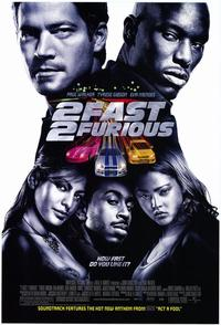 2 Fast 2 Furious - 43 x 62 Movie Poster - Bus Shelter Style A