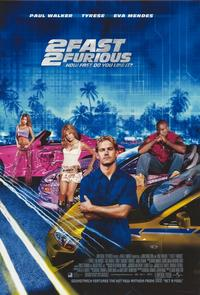 2 Fast 2 Furious - 11 x 17 Movie Poster - Style E