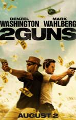 2 Guns - DS 1 Sheet Movie Poster - Style A