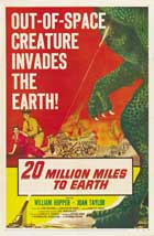 20 Million Miles to Earth - 27 x 40 Movie Poster - Style G