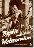 20 Million Miles to Earth - 11 x 17 Movie Poster - German Style B