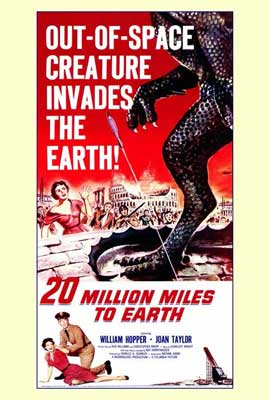 20 Million Miles to Earth - 27 x 40 Movie Poster - Style A