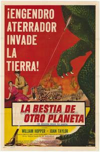 20 Million Miles to Earth - 27 x 40 Movie Poster - Spanish Style A