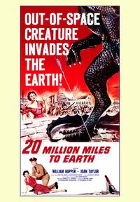 20 Million Miles to Earth - 43 x 62 Movie Poster - Bus Shelter Style A