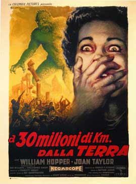 20 Million Miles to Earth - 27 x 40 Movie Poster - Italian Style A