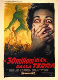20 Million Miles to Earth - 43 x 62 Movie Poster - Italian Style B