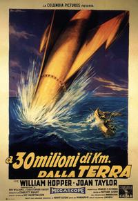 20 Million Miles to Earth - 11 x 17 Movie Poster - Italian Style B