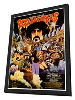 200 Motels - 27 x 40 Movie Poster - Style A - in Deluxe Wood Frame