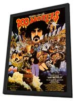 200 Motels - 11 x 17 Movie Poster - Style A - in Deluxe Wood Frame