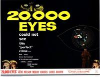 20,000 Eyes - 11 x 14 Movie Poster - Style A