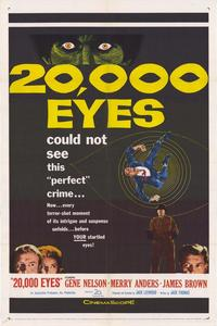 20,000 Eyes - 11 x 17 Movie Poster - Style A