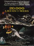20,000 Leagues Under the Sea - 11 x 17 Movie Poster - French Style D