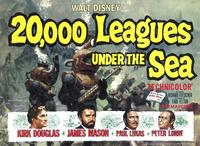 20,000 Leagues Under the Sea - 11 x 14 Movie Poster - Style A
