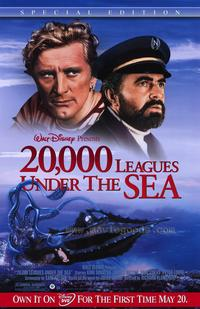 20,000 Leagues Under the Sea - 43 x 62 Movie Poster - Bus Shelter Style A