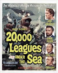 20,000 Leagues Under the Sea - 11 x 17 Movie Poster - Style C